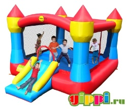 Надувной батут Super Castle Bouncer With Slide 9217