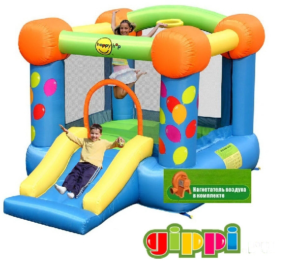 Надувной батут Party Slide and Hoop Bouncer 9070