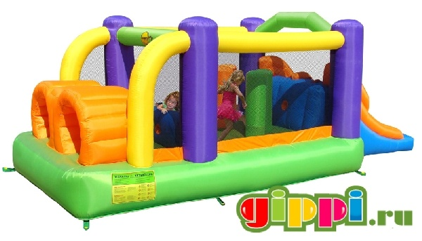 Надувной батут Obstacle Course Bouncer 9063