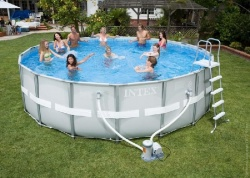 28322 Каркасный бассейн Intex Ultra Frame Pool