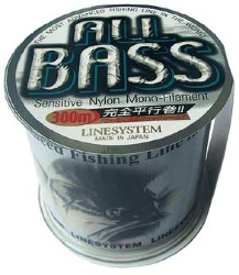 Леска Linesystem All Bass 0,165мм, 300м, grey brown