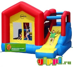Надувной батут Climb and Slide Bouncy House 9064N