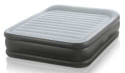 64436 Кровать Intex Deluxe Pillow Rest Raised Bed 152х203х42см, встр.насос 220V