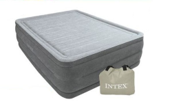 64418 Кровать Intex Comfort-plush Rise 152х203х56см с насосом 220в